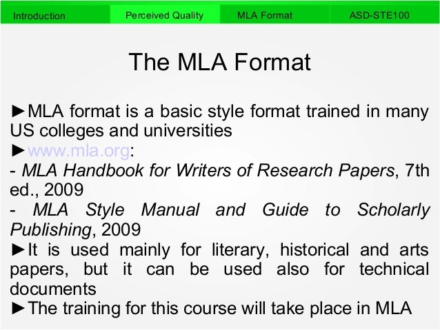 mla writing standards for term papers The modern language association or the mla writing format is used commonly when writing papers in the liberal arts and humanities field.
