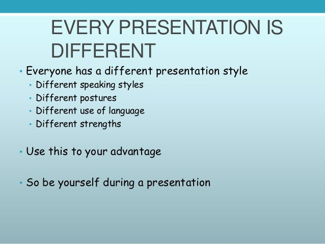 HOW TO DELIVER A PRESENTATION; 6.