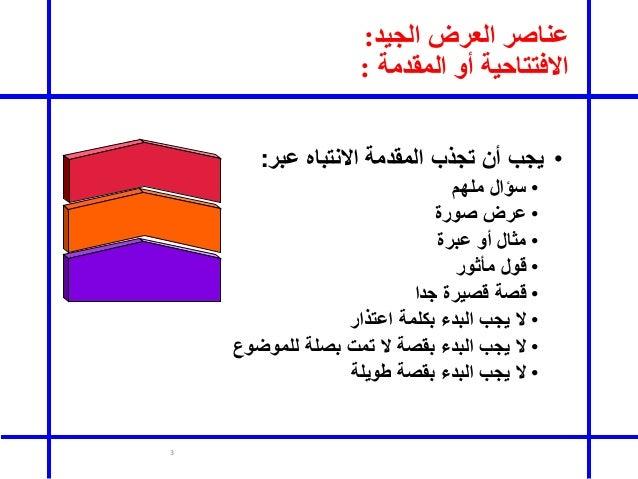Presentation skills Slide 3