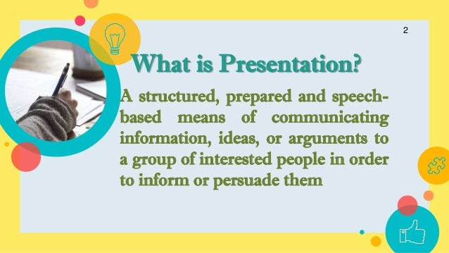 Presentation Skills Slide 2