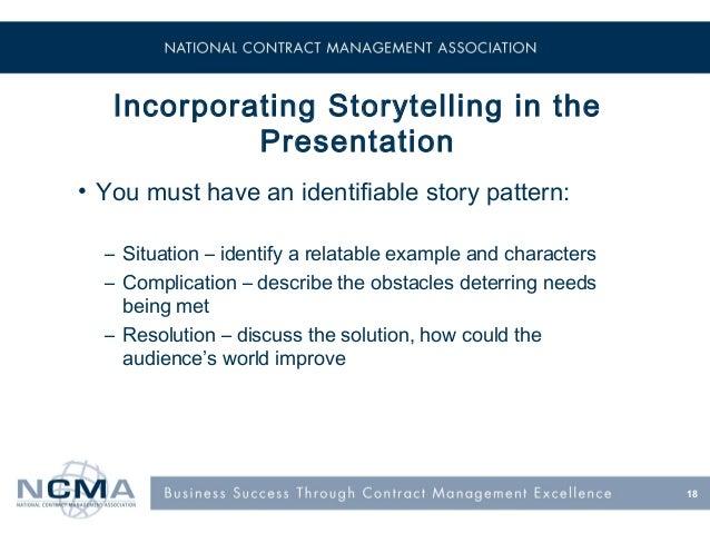 Skills needed for story telling