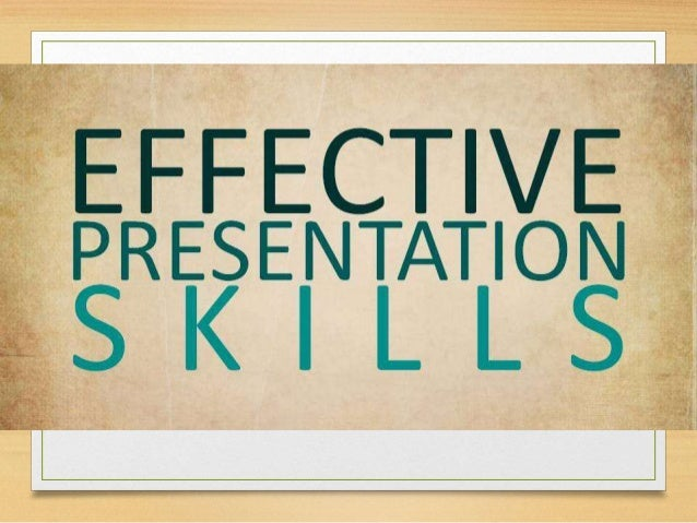 A presentation is a means of communication which can be adapted to various speaking situations, such as talking to a group...