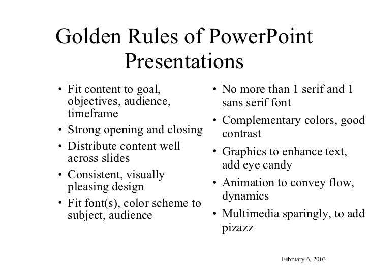 effective business presentation tips