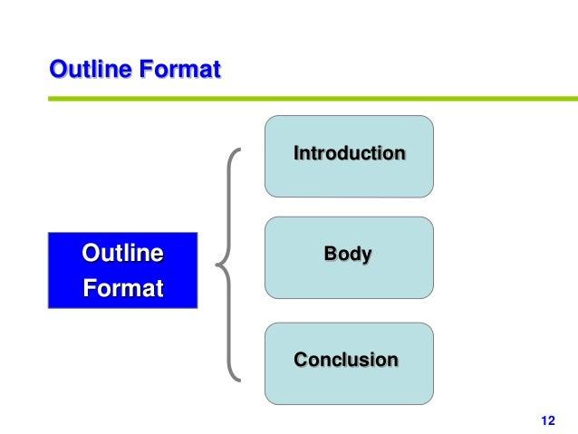 powerpoint outline format - Denmar.impulsar.co