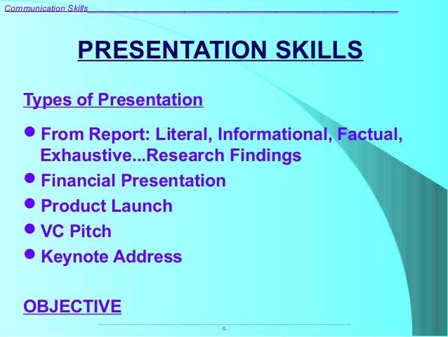 Communication skills training improve presentation & public speaking.