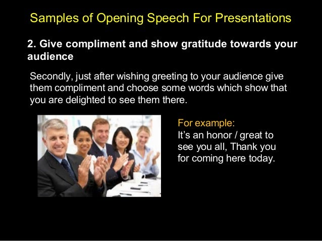 Presentation skills with guided sign post 32 samples of opening speech m4hsunfo
