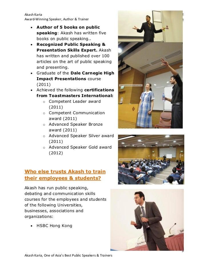 Hong Kong Presentation Skills and Public Speaking Coaching Slide 3