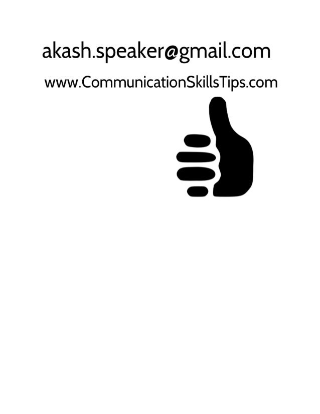 Presentation skills training Slide 3