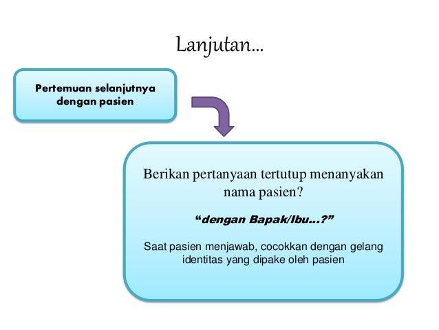 SPO IDENTIFIKASI KEJADIAN TIDAK DIHARAPKAN (KTD) / ADVERSE EVENT