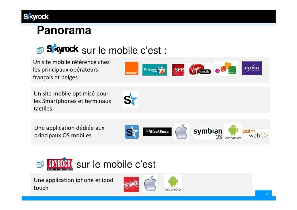 Presentation skyrock 161210 Slide 2