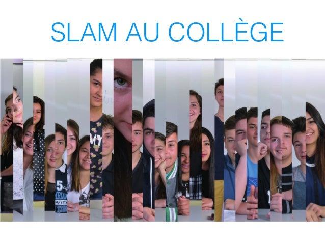 SLAM AU COLLÈGE