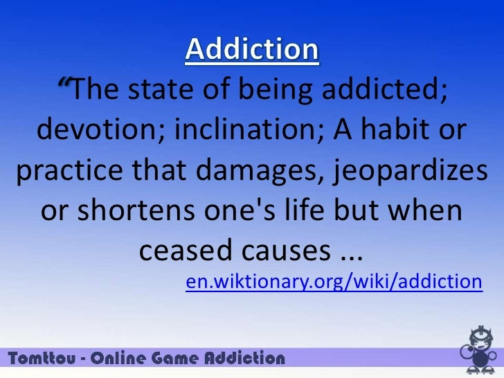 speech about dota addiction