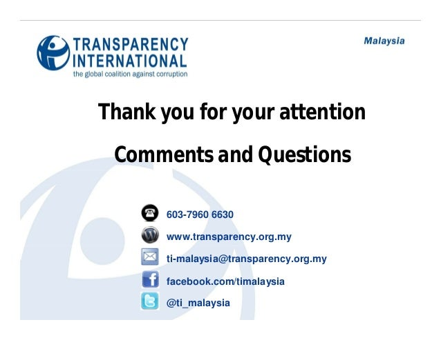 corruption in malaysia essay Although corruption in malaysia has not attained epidemic proportions, it is  nevertheless on the increase in recent years this trend has been observed by.