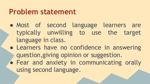 Foreign and second language anxiety