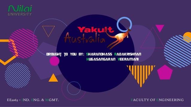 type of manufacturing process \u0026 manufacturing layout of yakult austra\u2026 Process Flow Shape
