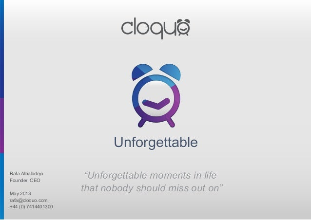 """UnforgettableUnforgettable """"Unforgettable moments in life that nobody should miss out on"""" """"Unforgettable moments in life t..."""