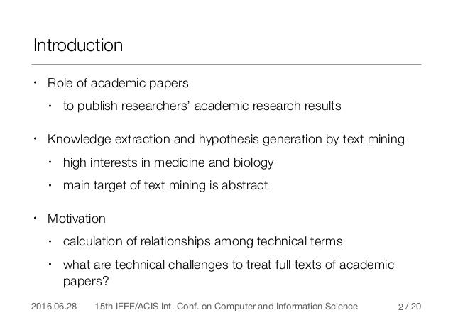 technical analysis research papers Technical analysis is the study of historic price movements of securities, trading   research paper attempts to apply technical analysis tools and techniques on.