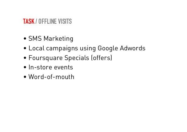 IDEA / OFFLINE VISITS  Campanie pentru promovarea unui restaurant  • O leapsa intre blogger ide going out (cu  prezenta bu...