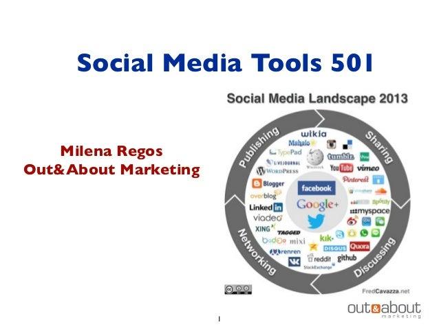 Social Media Tools 501 Milena Regos Out&About Marketing 1