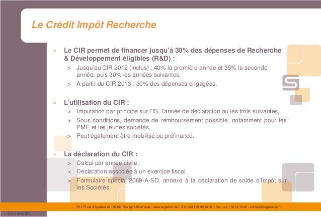 Présentation sogedev - le financement en amorçage (FD et GIT) Slide 3