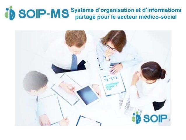 SOIP-MS, un outil simple et efficace pour :