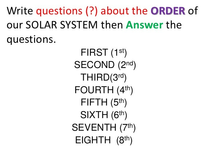 solar system based questions - photo #18
