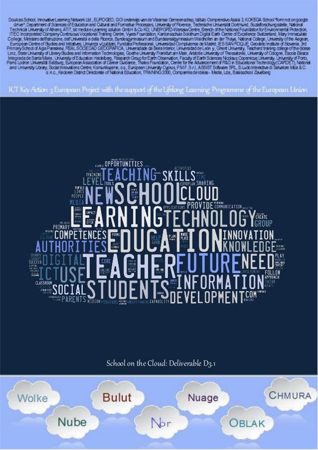 Presentations on the impact of Cloud-based teaching and teacher education on teachers and trainers
