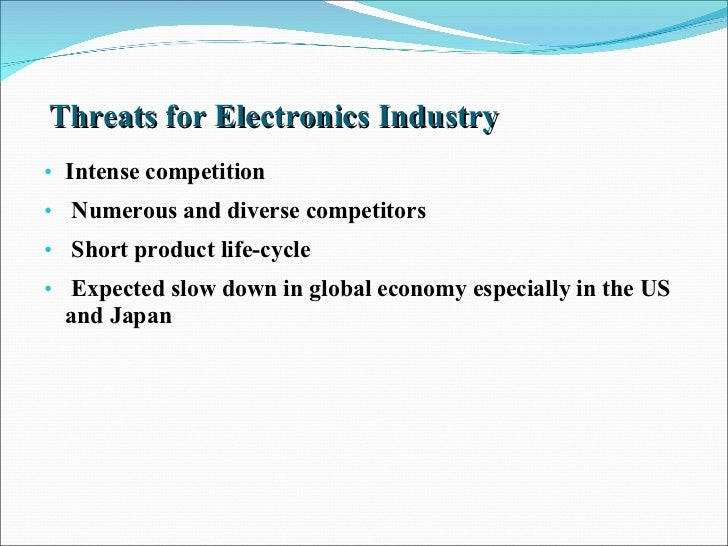 competitor analysis of sony electronic industry docx Case analysis purpose the following analysis takes into account not only sony sony corporation and its competitors industry sony electronic inc.