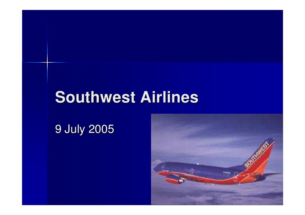 Southwest Airlines 9 July 2005