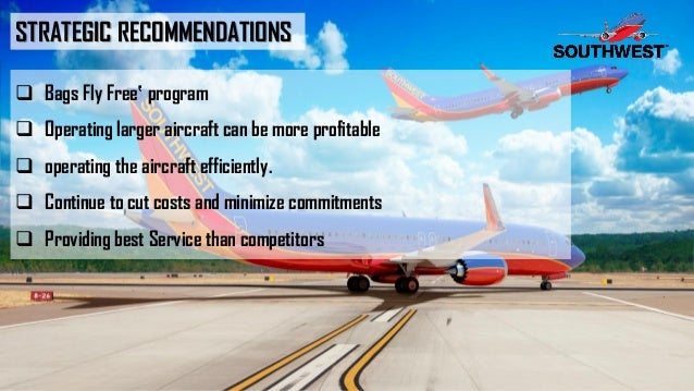 analysis and recommendations for the airline industry The southwest airlines swot analysis is a good example to illustrate how a swot analysis can be a helpful tool for any business swot stands for strengths, weaknesses, opportunities, and threats a swot analysis is a strategic planning method that helps a business understand itself better and make plans to move forward.