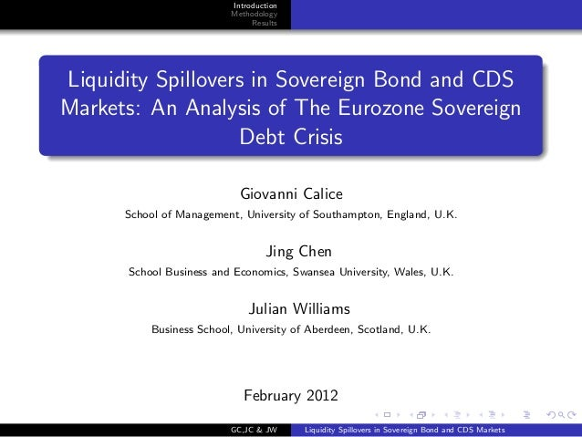 Introduction                         Methodology                              ResultsLiquidity Spillovers in Sovereign Bon...