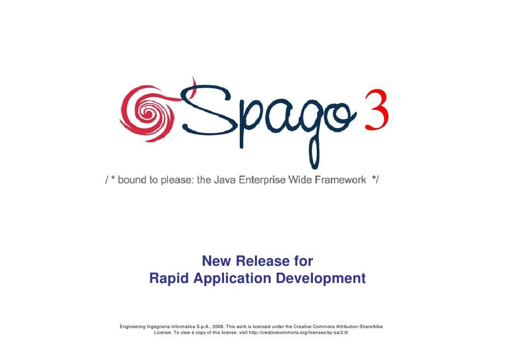 3                      New Release for              Rapid Application Development   Engineering Ingegneria Informatica S.p...
