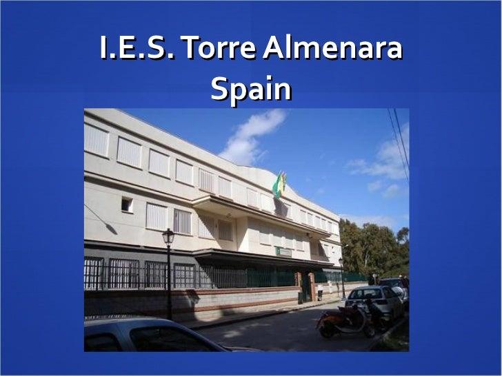 I.E.S. Torre Almenara Spain