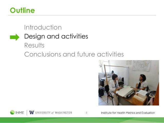 5 Outline Introduction Design and activities Results Conclusions and future activities