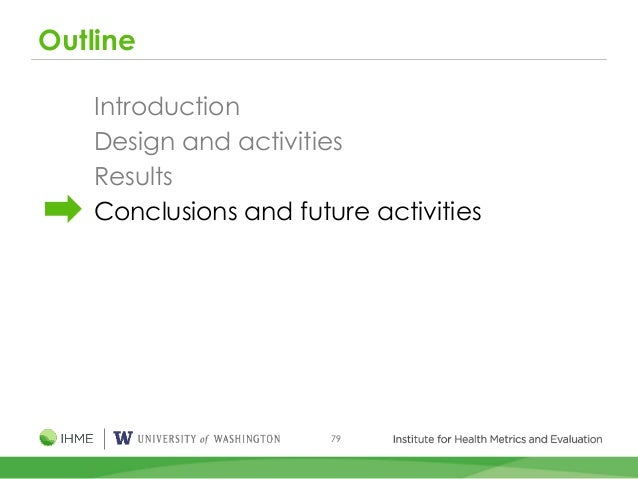 79 Outline Introduction Design and activities Results Conclusions and future activities