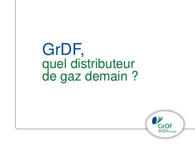 GrDF,  quel distributeur  de gaz demain ?
