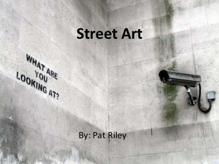 presentation street art