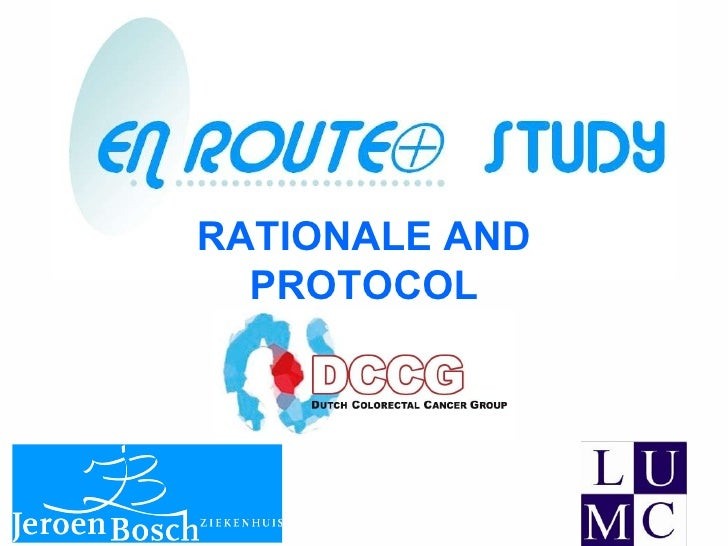 RATIONALE AND   PROTOCOL