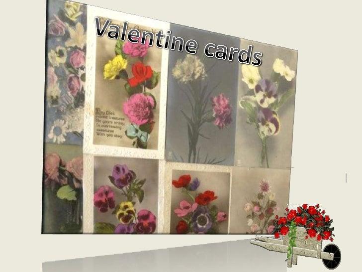 Valentine cards<br />