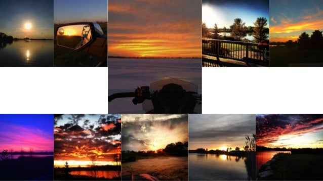 sunsets / sunrises