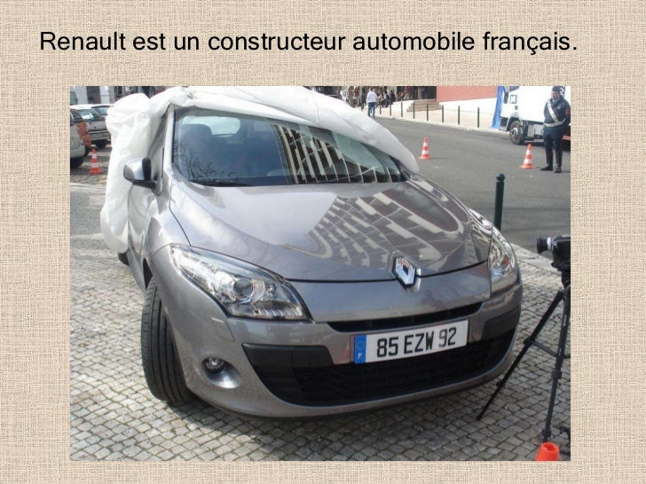 Renault est un constructeur automobile français.