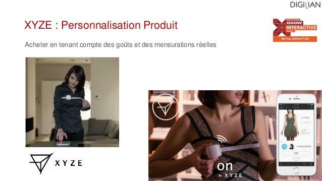 XYZE : Personnalisation Produit Acheter en tenant compte des goûts et des mensurations réelles