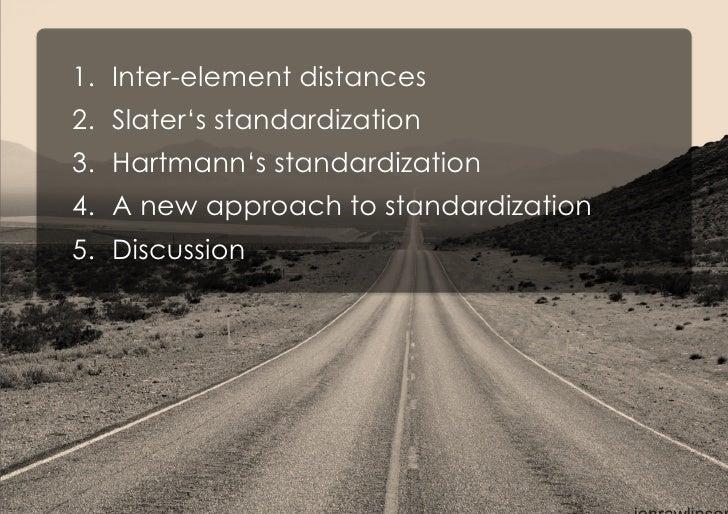 Standardizing inter-element distances in repertory grids Slide 2