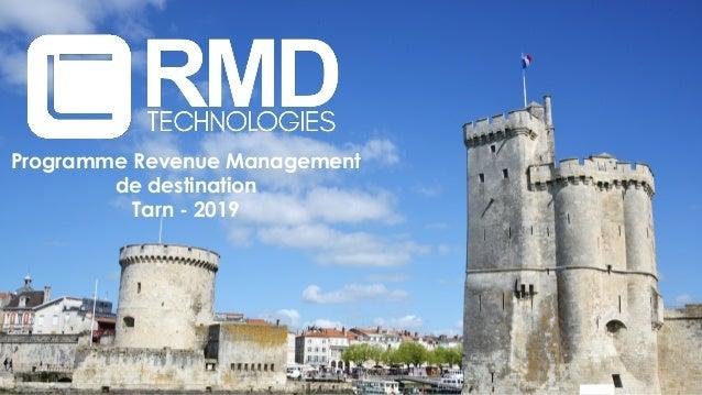 Programme Revenue Management de destination Tarn - 2019