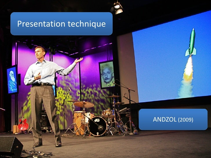 Presentation technique                              ANDZOL (2009)