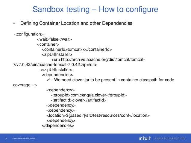 Micro Service Sandbox Test Automation