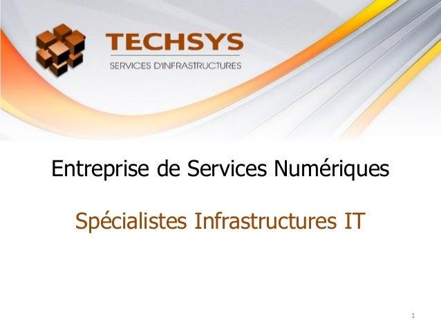 Entreprise de Services Numériques Spécialistes Infrastructures IT 1