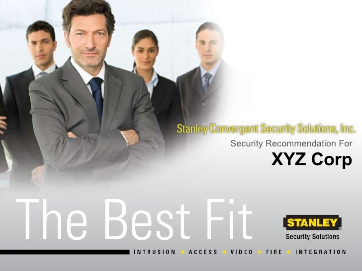 XYZ Corp Security Recommendation For