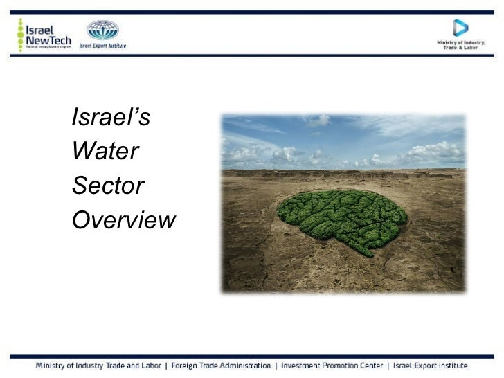 December 2010 Israel's  Water  Sector  Overview
