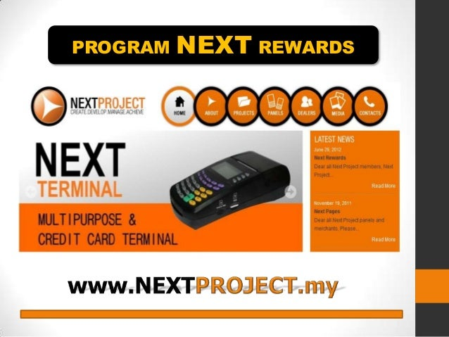 PROGRAM  NEXT REWARDS